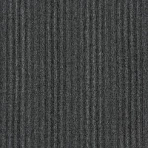 INTERFACE ELEVATION III CARPET TILES NERO MAQUINA